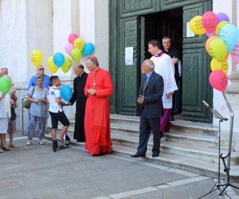 2017 Il Patriarca Francesco alla festa