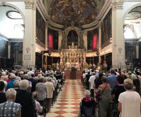2018 Messa con il Patriarca Francesco Moraglia